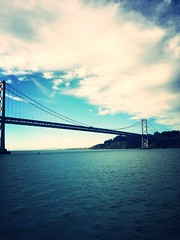 Bay ferry views (caoimhin2me) Tags: sanfrancisco sanfranciscobay oaklandbaybridge barybridge projectweather
