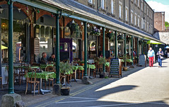 Cafe by Tavistock Pannier Market, Devon (Baz Richardson (now away until 9 July)) Tags: markets devon tavistock cafes panniermarket dukescoffeehousetavistock