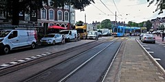 Aanschuiven. (Peter ( phonepics only) Eijkman) Tags: city holland netherlands amsterdam transport nederland tram rail rails trams strassenbahn noordholland gvb tramtracks streetcars combino nederlandse