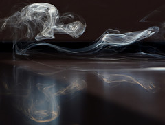 Vaporous spirit (Seabird NZ) Tags: newzealand canterbury christchurch smoke forms reflections nikond810a sigma120300mmf28 backlit sunlight incense weirdshapes ghosts vapourousspirit spirit vapourous scream