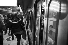 Subte Buenos Aires 2016 (elisandro.dalcin) Tags: buenosaires subte metr transporte caba street people bw noiretblanc