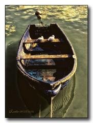 Rowboat 1 (bonksie61) Tags: uk blue sea boat rowboat aclass yabbadabbadoo flickrstars royalgroup flickraward almostanything shining★star