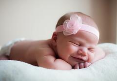 Little smiler (Helen Morcom Photography) Tags: baby portraits newborn nikond700