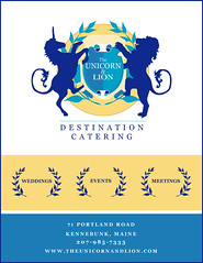 Unicorn and Lion Flyer