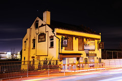 The Bush, Leabrook Road, Wednesbury 24/02/2012 (Gary S. Crutchley) Tags: road street uk travel england urban black west heritage history beer bar night dark evening town bush pub inn nikon long exposure nightscape shot nightshot image time britain united country great ale kingdom tavern after local nightphoto nikkor townscape staffordshire westmidlands vr afs midlands the tipton blackcountry ifed nightimage 24120mm sandwell f3556 hostelry wednesbury nightphotograph d700 leabrook