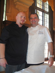 with chef Rolando Cruz