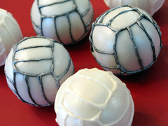 "Volleyball Cake Balls • <a style=""font-size:0.8em;"" href=""http://www.flickr.com/photos/64714706@N05/7058072007/"" target=""_blank"">View on Flickr</a>"