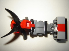 torso top (shrimplor) Tags: mobile robot lego frame instructions breakdown zero mecha mech microscale mfz mf0 hellhoundassembly