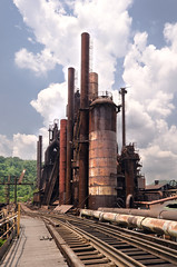 W Steel Corporation (randompkguy) Tags: hot industry metal pig rust iron industrial slag decay steel rusty coke explore flux pigs limestone furnace exploration derelict ore blast decaying ue dormant molten smelter urbex machineshop smelting steelmill steelmaking orebridge