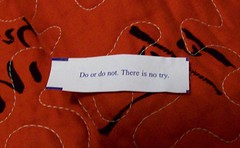From out of my fortune cookie... (partymonstrrrr) Tags: fortunecookie fortune copyrightinfringement lolz