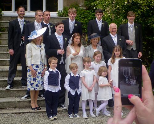 iPhone wedding photog