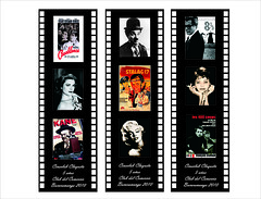 Separadores de libro CineClub Claqueta (Clanaty) Tags: graphicdesign films hollywood bookmark diseogrfico pelcula separadoresdelibro
