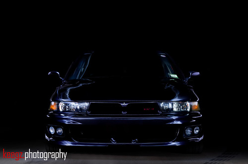 Mitsubishi Galant VR4 [Light Painted]