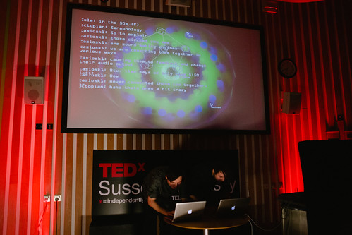 GlitchLich performing at TEDxSussexUniversity 2012