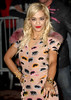 Rita Ora, at the 'Grand Journal' during the 65th Cannes Film Festival. Cannes, France