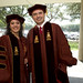 LBJ School of Public Affairs 2012 Commencement Ceremony - May 19, 2012 - PhD Graduates Tanvi Madan and Andres Forero