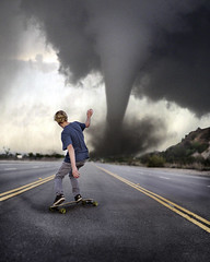 Perfect weather. (David Talley) Tags: road street storm hill windy riding skate longboard skateboard 365 tornado dervish loaded longboarding perfectweather intothestorm loadedboards loadeddervish davidtalley