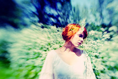 """Daydreamer"" 52/35 (Jeanique) Tags: flowers selfportrait me lensbaby myself dream redhead hippie dreamy redhair daydreamer selfie whitedress jeanique lensbabysweet35 lensbabycomposerpro"