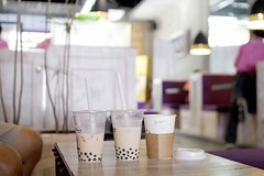 tea time (SeetYing) Tags: canon 350d pearlmilktea houseblendedcoffee chatime