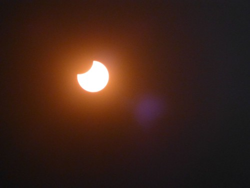 Eclipse Anular desde Lake Tahoe, Nevada