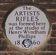 Henry Wyndam Phillips, London (OpenPlaques) Tags: white london plaque studio artist military phillips henry artists mayfair wyndham 1860 stgeorgestreet artistsrifles londonplaque whiteplaque patrickbaty londonplaques henrywyndhamphillips wyndhamphillips whiteplaques openplaques:id=9166