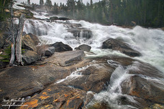 Epic-Ness (leapin26) Tags: california waterfall yosemitenationalpark 2012 tuolumnemeadows tuolumneriver waterwheelfalls thepowerofnow waterfallswestcom leonturnbullphotography