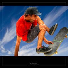 Skate II (Julio_Castro) Tags: madrid nikon cielo skate alcobendas jovenes 2470f28 nikond700 deporteurbano parqueextremadura