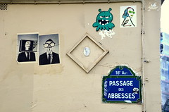 Passage des Abbesses (Guillaume Angibert) Tags: street paris art stairs nikon butte path montmartre des af nikkor 18 passage anonymous rue arrondissement vr nam birdy quartier abbesses marches 18ème ème abbesse abesse d5100