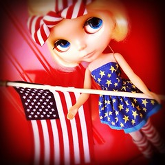 Blythe-a-Day May: Day 28 The Flag