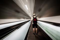 Move In (50D-Ray) Tags: city subway movement metro tunnel ret wilhelminaplein kopvanzuidrotterdam