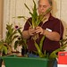 Alex Nadzan conducting the culture class on repotting