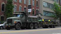 Military Dump Truck (Gerard Donnelly) Tags: truck army camion mp sterling benne millitary
