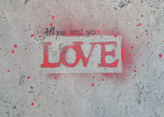 Love Is All You Need (Stephen Whittaker) Tags: art love liverpool graffiti nikon institute lipa beatles loveisallyouneed pilgrimstreet allyouneedislove allyouneed mountstreet d5100 whitto27
