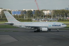 TS A310 C-GLAT (PlaneSnapper) Tags: amsterdam air airbus welcome schipol ams ts transat a310 cglat a3103
