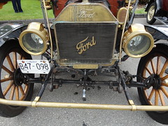 1912 Ford Model T Touring Car (Custom_Cab) Tags: canada detail ford car t model front canadian grill end 1912 brass radiator touring axle