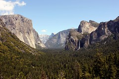Yosemite Valley (Prayitno / Thank you for (6 millions +) views) Tags: california park ca day clear national valley yosemite halfdome elcapitan bridalveilfall cathedralspires konomark
