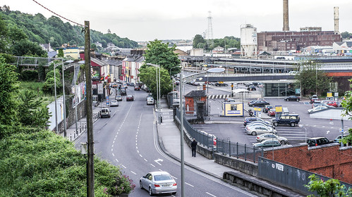 Cork: St. Luke's And Surrounding Area - Kent Station As Seen From North Summerhill Road
