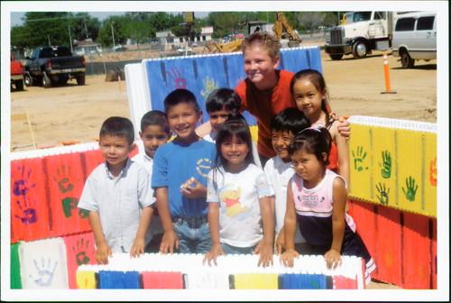 Master of Ceremonies for the ground breaking for the Antelope Valley Children's Center