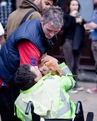 Puppy Love (anthony_white) Tags: street dog london puppy market broadway hackney londonist