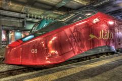 ITALO (fotopierino) Tags: ps 5d alta stazione garibaldi treno hdr 1740 velocit italo ntv markiii photomatix caono agv fotopierino 5dm3 5dmiii italotreno