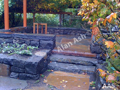 WM AA5, Alan Ash, Steps, dry laid stone construction, copyright 2014