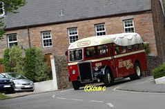 Downhill! (Coco the Jerzee Busman) Tags: bus bristol tiger ps1 cannon jersey swift char tours banc leyland stringer wadham lcb ecw lh6l
