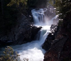 Split Rock Falls (Adam Franco) Tags: adirondacks waterfalls rivers streams