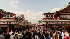 A busy Asakusa (TheSpaceWalker) Tags: japan temple sensoji photography japanese tokyo photo pic 1750 asakusa tamron jpn d300 thespacewalker