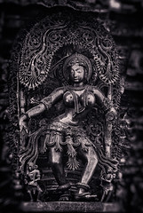 Madanika. (Prabhu B Doss) Tags: sculpture india statue stone architecture temple soap queen karnataka nymph belur travelphotography hoysala shantala vishnuvardhana prabhubdoss madanikas