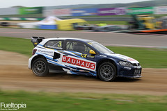 Volkswagen Polo 4x4 T16 (3) (Johan Kristoffersson) (tbtstt) Tags: world 3 monster championship belgium round jules circuit rallycross 2016 tacheny mettet