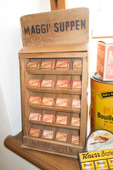 Antique Maggi soup mixes (quinet) Tags: germany soup antique soupe grocery maggi ancien antik picerie suppen 2013 lebensmittelgeschft domnedahlem