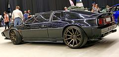 1981 Lotus Esprit S3 (crusaderstgeorge) Tags: cars lotus sweden 1981 sverige s3 classiccars sportscar esprit sandviken englishcars blackcars göranssonarena arenawheels may2016 crusaderstgeorge 1981lotusesprits3