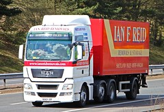 MAN - IAN F.REID Removals Lerwick Shetland Isles (scotrailm 63A) Tags: trucks removals lorries