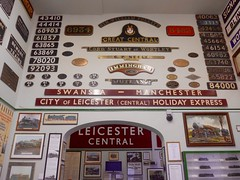 Great Central Railway Loughborough Leicestershire 24th January  2016 (loose_grip_99) Tags: uk railroad england station museum train leicestershire engine rail railway trains steam transportation locomotive railways loughborough preservation nameplate greatcentral nameboard